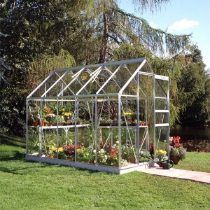 Halls Popular Greenhouse - 6ft x 10ft