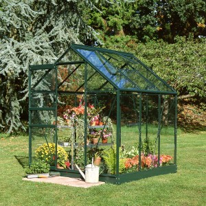 Halls Popular Greenhouse - 6ft x 6ft