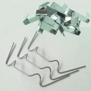 Greenhouse Glass Pane mixed x50 W fixing Clips & x50 Overlap Z Clips