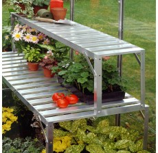 4ft Top Extension Staging - Silver